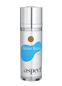 how to use aspect retinol brulee